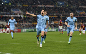 Soccer - UEFA Champions League - Group E - AS Roma v Manchester City - Stadio Olimpico