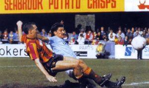 Trevor Morley sikrer City opprykk med avgjørende mål mot Bradford i mai 1989