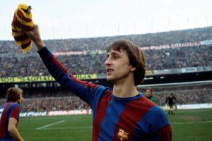 Johan Cruyff fra tiden i Barcelona