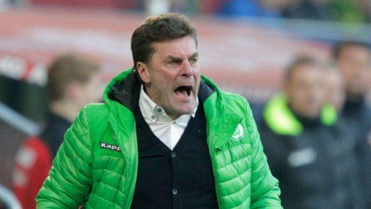 Wolfsburg-sjef Dieter Hecking følte seg sikker på at De Bruyne kom til å bli et år til i Wolfsburg.
