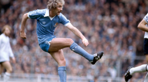 9/5/1981 FA Cup Final - Manchester City v Tottenham Hotspur Gerry Gow. (Photo by Mark Leech/Getty Images)
