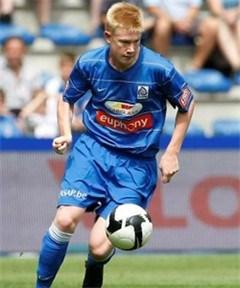17 år gamle Kevin De Bruyne har nettopp debutert for Genk.